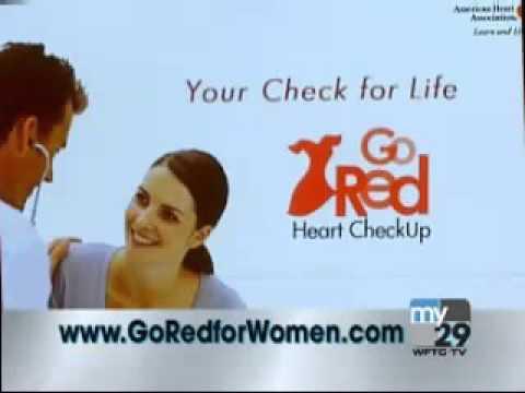 Go Red Heart CheckUp   Minnesota PSA with Fox