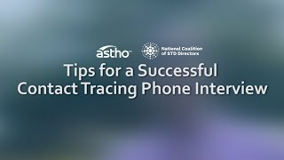 Tips For a Successful Contact Tracing Phone Interview