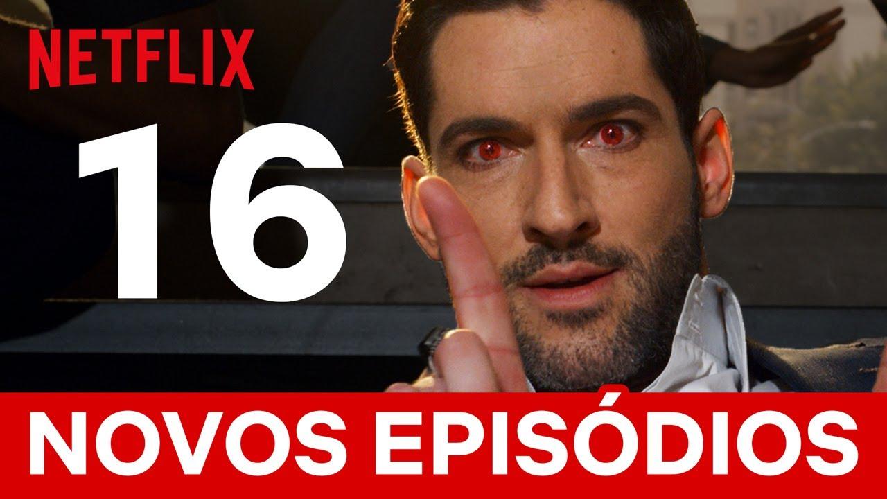 Comemorando 16 episódios novos de Lúcifer com 16 momentos incríveis | Netflix Brasil