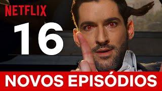 Comemorando 16 episódios novos de Lúcifer com 16 momentos incríveis   Netflix Brasil