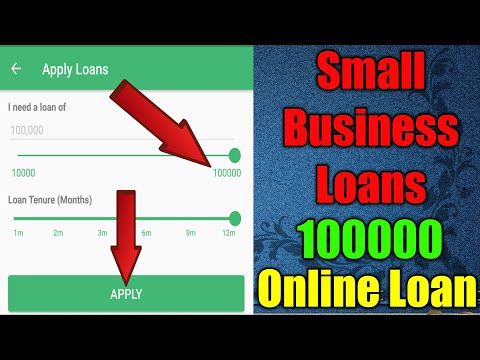 Business Loans For Small Business Loan Company Pay1 100000 Online Loan