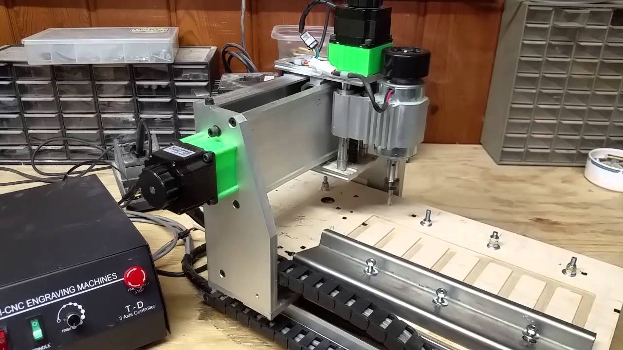 Used Milling Machines Ebay >> Cheap Ebay Cnc Router Engraver Mill Running Via The Lpt Port