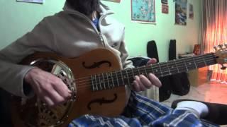 dobro hound dog (epiphone) - Texas blues