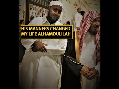HIS MANNERS CHANGED MY LIFE I WILL NEVER FORGET IT!!    [INSPIRING] [MUST WATCH]