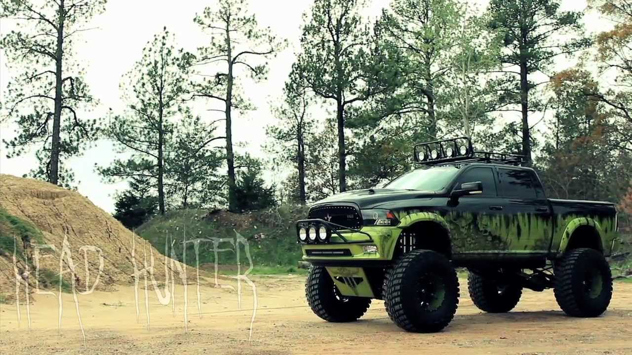 New Dodge Trucks >> Head Hunter: Custom 2009 Dodge Ram - YouTube
