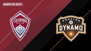 Colorado Rapids vs. Houston Dynamo | HIGHLIGHTS - March 30, 2019