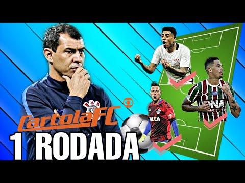 DICAS CARTOLA FC 2019 - #1 RODADA (DICAS) - 동영상