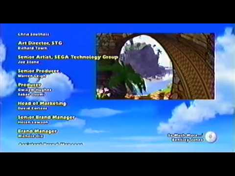 Sonic and Sega All-Star Racing Ending