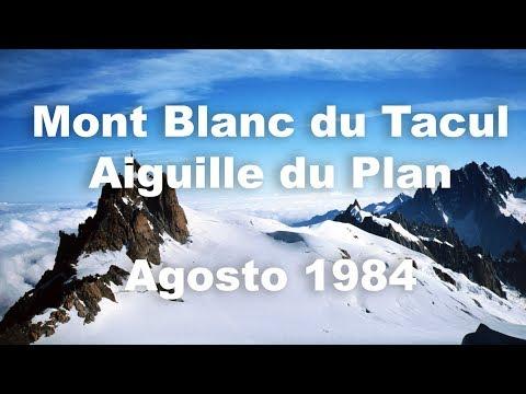 Chamonix - Mont Blanc Du Tacul E Aiguille Du Plan - Agosto 1984 - Alpinismo