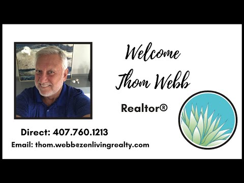 Zen Living Realty Welcomes New Agent Thom Webb!