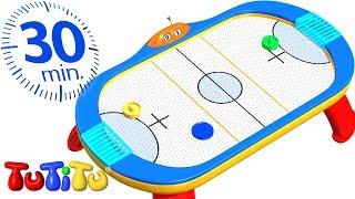 Зимнее время | Настольный хоккей | 30 минут ТуТиТу Игрушки