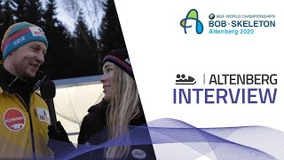 Friedrich talks about ENSO-Eiskanal ice-track | IBSF Official