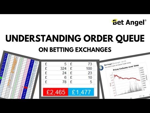 Peter Webb - Bet Angel - Understanding the order queue on a betting exchange