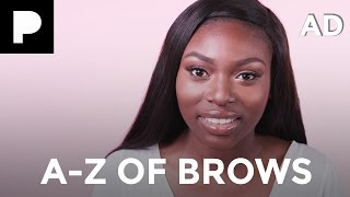 a z of perfect brows ft patricia bright ad   benefit cosmetics