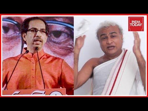 Shiv Sena Against Jain Monk Asking To Vote For BJP