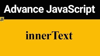 innerText in JavaScript (Hindi)