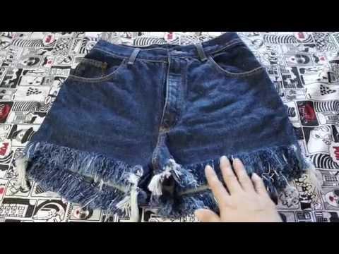 Diy: Melhor técnica para desfiar shorts jeans