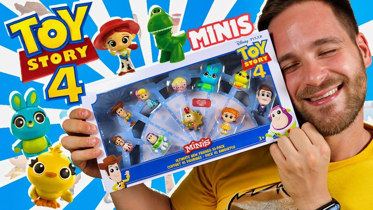 ABRIMOS EL PACK DE 10 AMIGOS DE LOS MUÑECOS DE TOY STORY 4 MINIS en Pe Toys