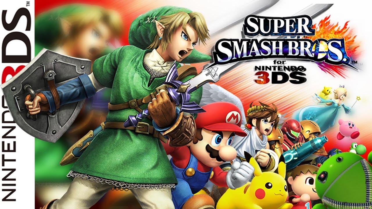 Descargar Super Smash Bros 3DS en Español/Inglés | 3DS ROM