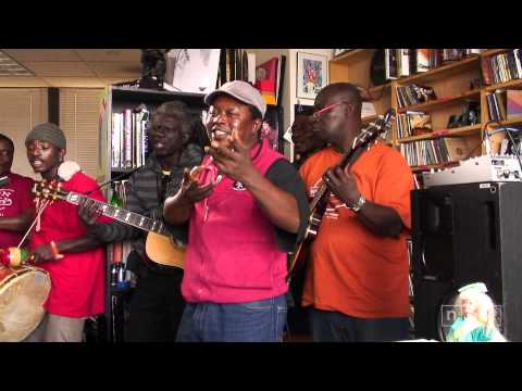 Sierra Leone's Refugee All Stars: NPR Music Tiny Desk Concert: