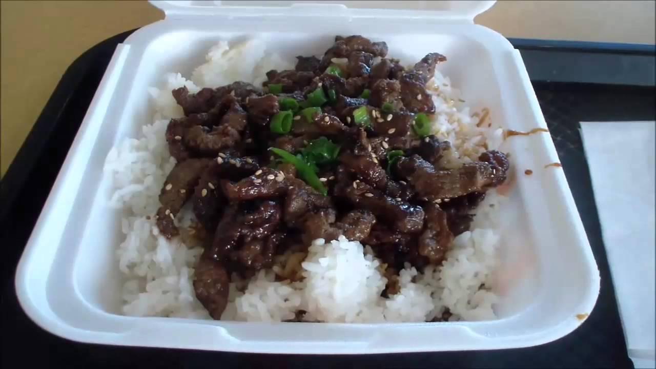 Angus Steak Bowl at Yoshinoya - YouTube