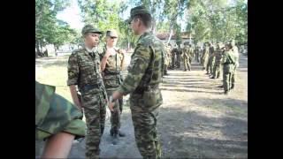 Учебный сбор Института военного обучения ТГУ 2012