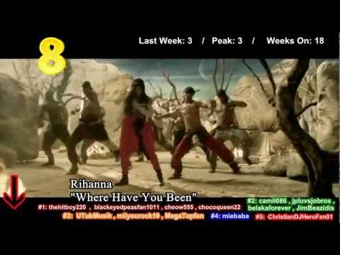 Jesse's Top 50 Singles- (9/8/2012)