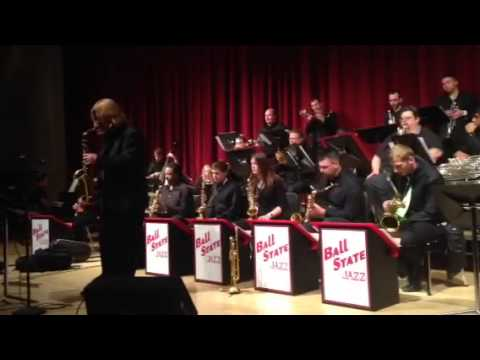 Danny Walsh with Ball State Jazz ens