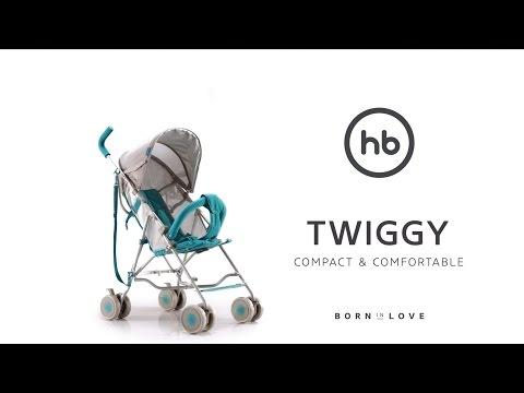 TWIGGY by HB | Happy Baby® - обзор всех функций прогулочной коляски