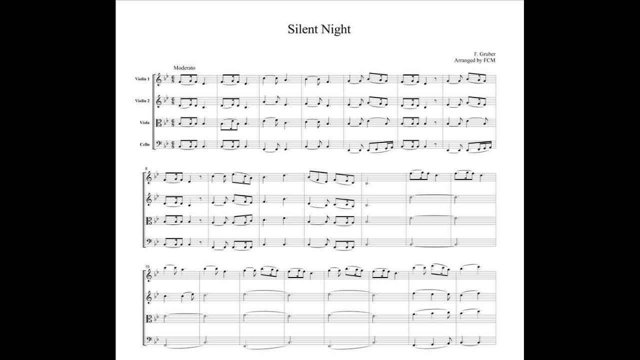 christmas carols silent night mp3 download