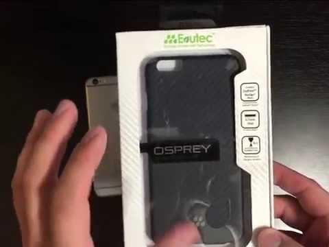 Evutec Karbon S Osprey Iphone 6 Plus Case Review