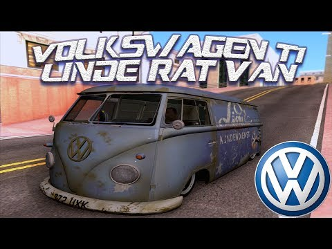 GTA San Andreas Mods - VW T1 Linde Rat Van [SA][IVF][CAR][HQ][1080p] - GTA San Andreas Mods