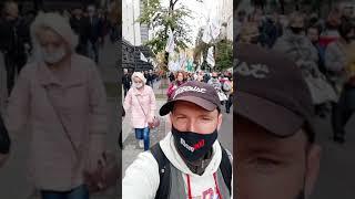 Веселый и шумный митинг #SaveФОП в Киеве!!! #митинг #shorts