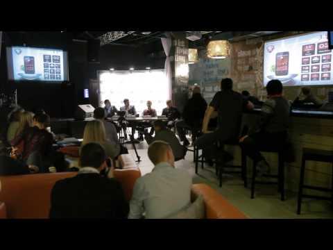Prestigio MultiPhones launch (Press conference in Minsk)