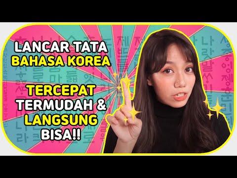 Video Belajar Bahasa Korea Untuk Pemula Dengan Mudah