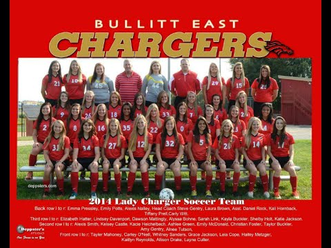 Bullitt East High School Lady Chargers Soccer 2014-15