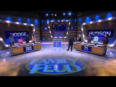 Family Feud Ep 133: Hudson vs Hodge