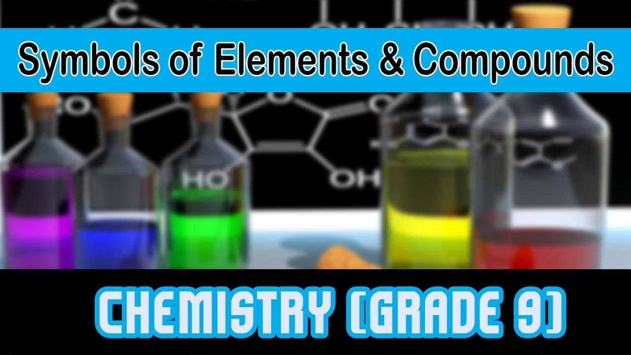 Symbols of elements compounds l chemistry youtube symbols of elements compounds l chemistry urtaz Image collections