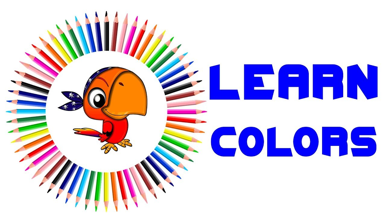 Learning Colors With 3D Pencils For Kids | Chuk Chuk Tv