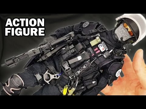 French Police Special Forces - RAID 1/6 Scale Action Figure Damtoys