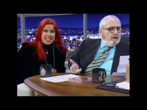 Georgia Brown - Programa do Jô  2001 Completo