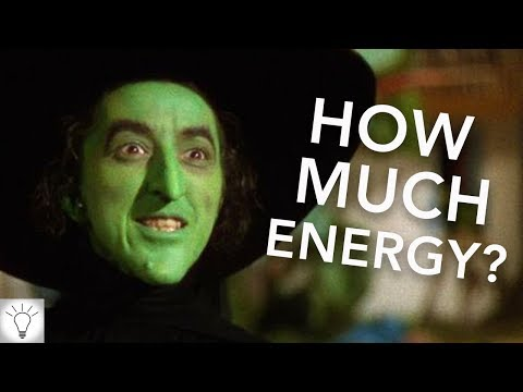 How Much Energy Would MELT The Wicked Witch?! (Wizard Of Oz) (Theory)