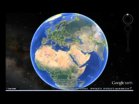 Tunisia Google Earth View