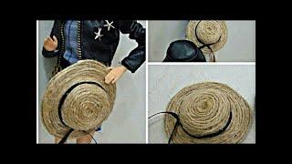Barbie Hasır Şapka Yapımı