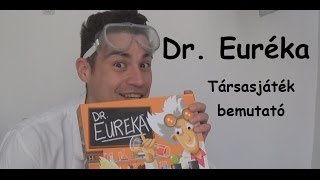 Dr. Euréka - társasjáték bemutató