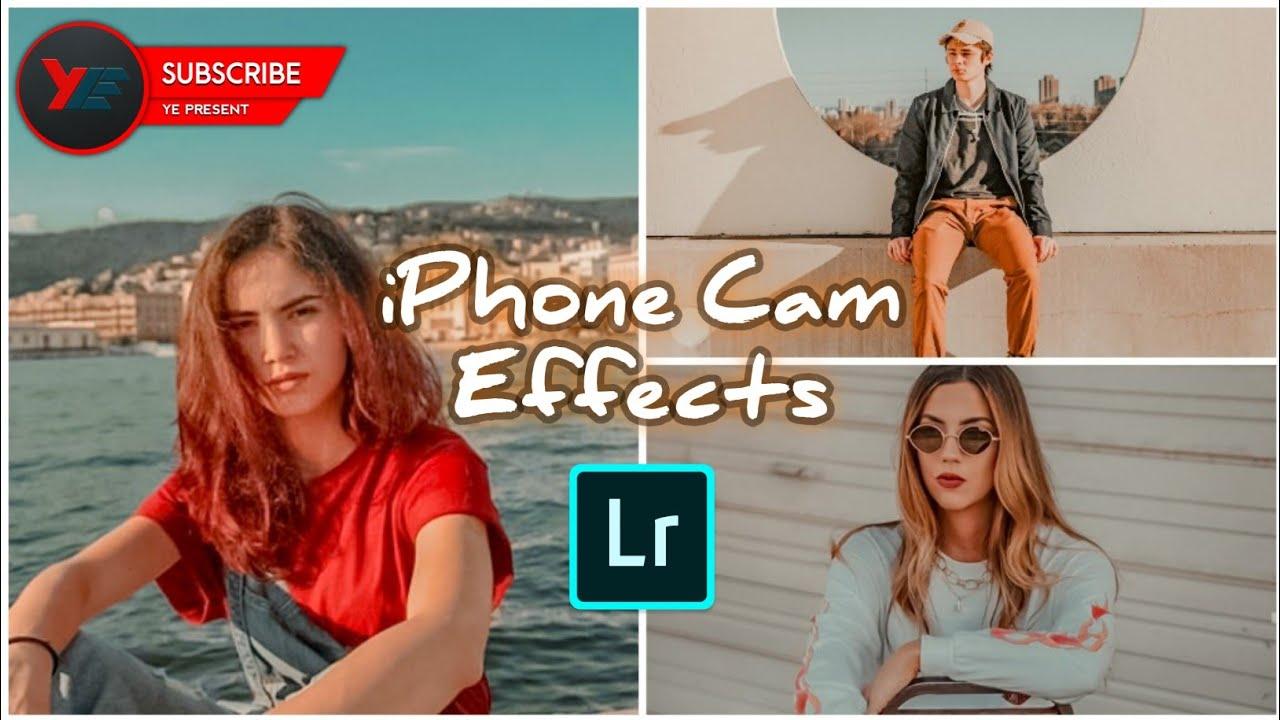 Cara edit foto di Lightroom efek kamera iPhone   YE ...