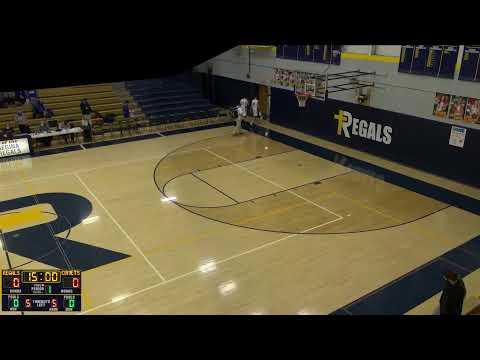 Regina High School vs. Bellevue JV Boys JV Mens' Basketball