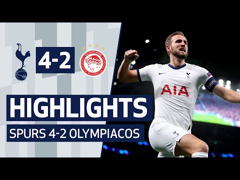 Highlights | Spurs 4-2 Olympiacos | Incredible Comeback In Jose Mourinho's First Home Win!