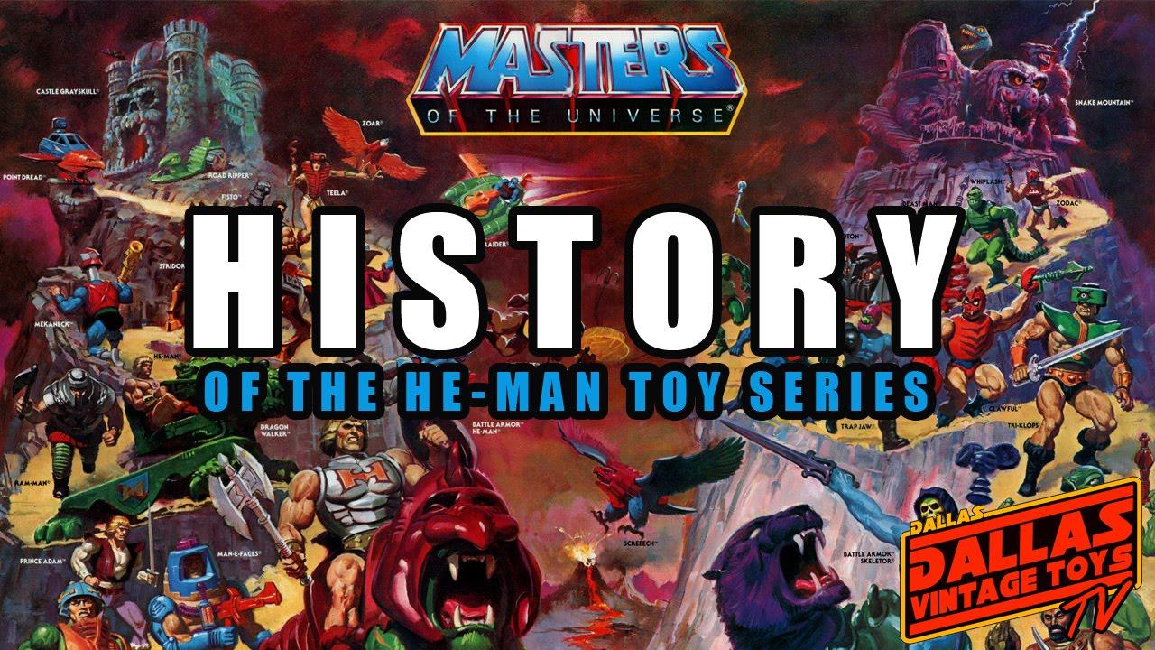 Dvtv  The History Of Heman Toys  Youtube