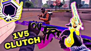 1V5 Clutch | NEW SKINS | Special Ops Ranked | Critical Ops 1.4.0 Operation Warpaint Gameplay